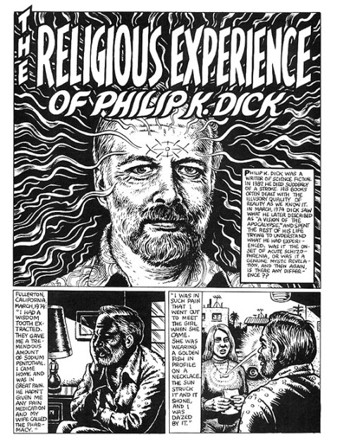 ... comix avatar Robert Crumb, whose accoutnt is available here in full.