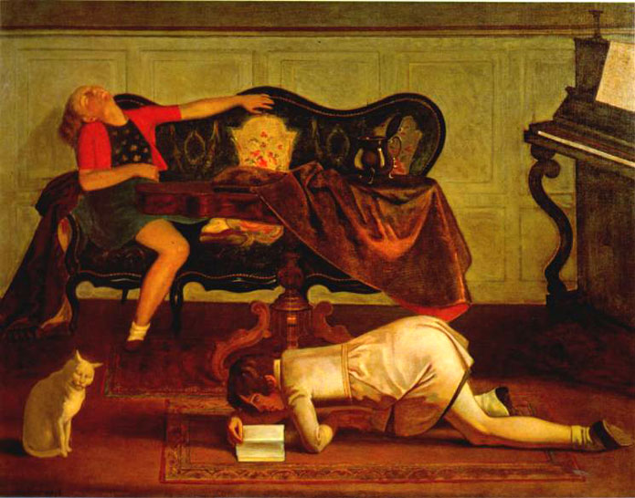 Balthus--The Living Room