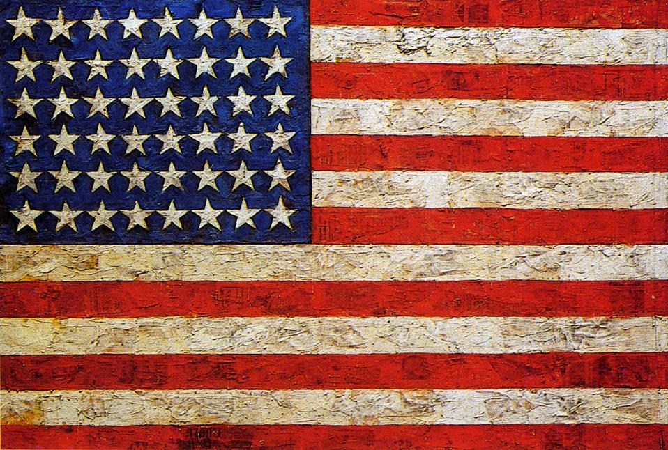 Flag -- Jasper Johns (1954)