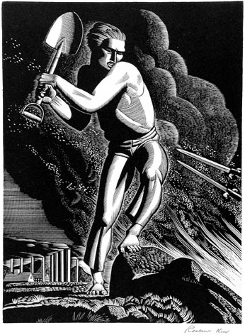 Workers of the World Unite -- Rockwell Kent