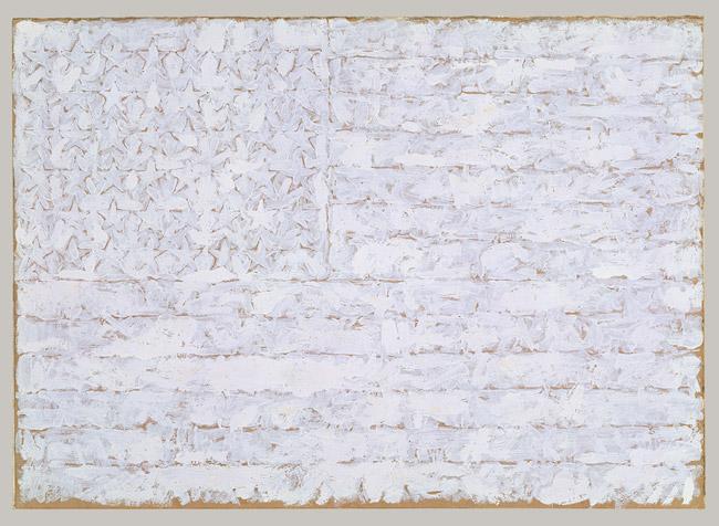 Flag -- Jasper Johns
