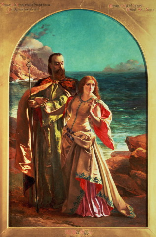 Prospero and Miranda--William Maw Egley