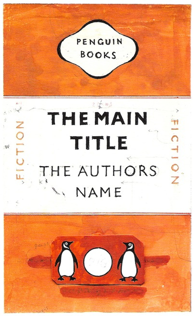 Penguin Book Cover Personalised : Penguin books turns biblioklept