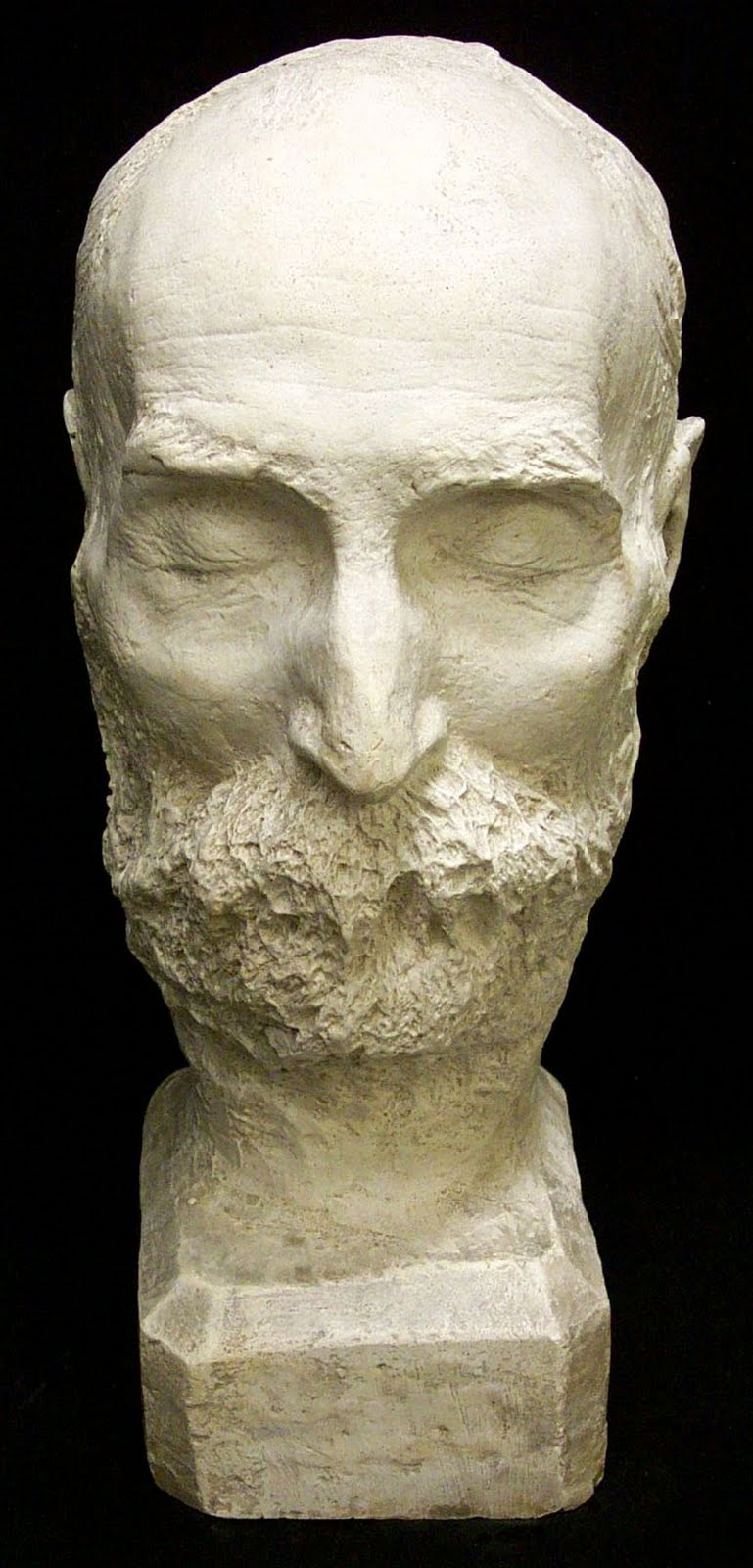 Walt Whitman's Death Mask
