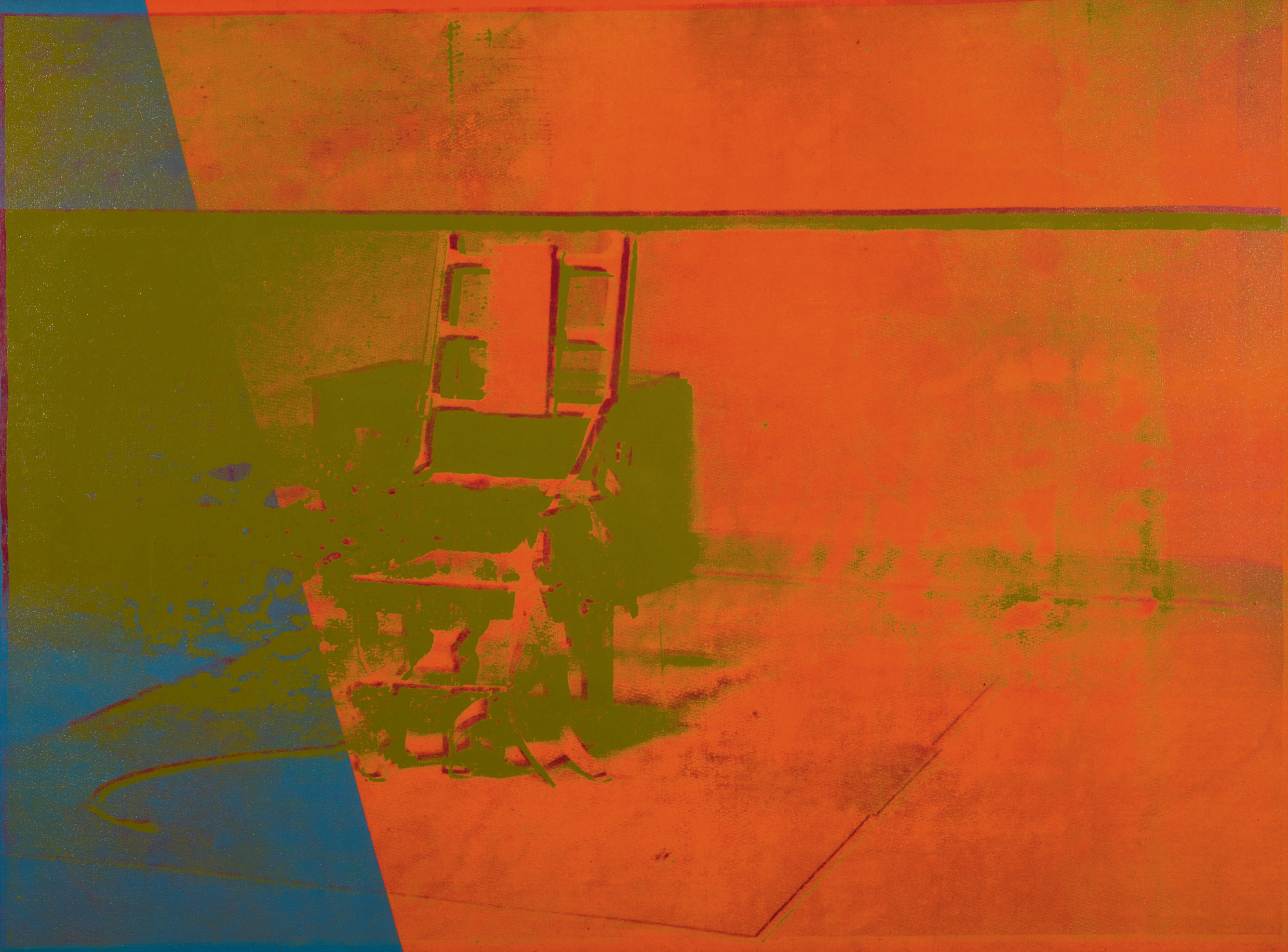 Electric chair andy warhol - Electric Chair Andy Warhol 8