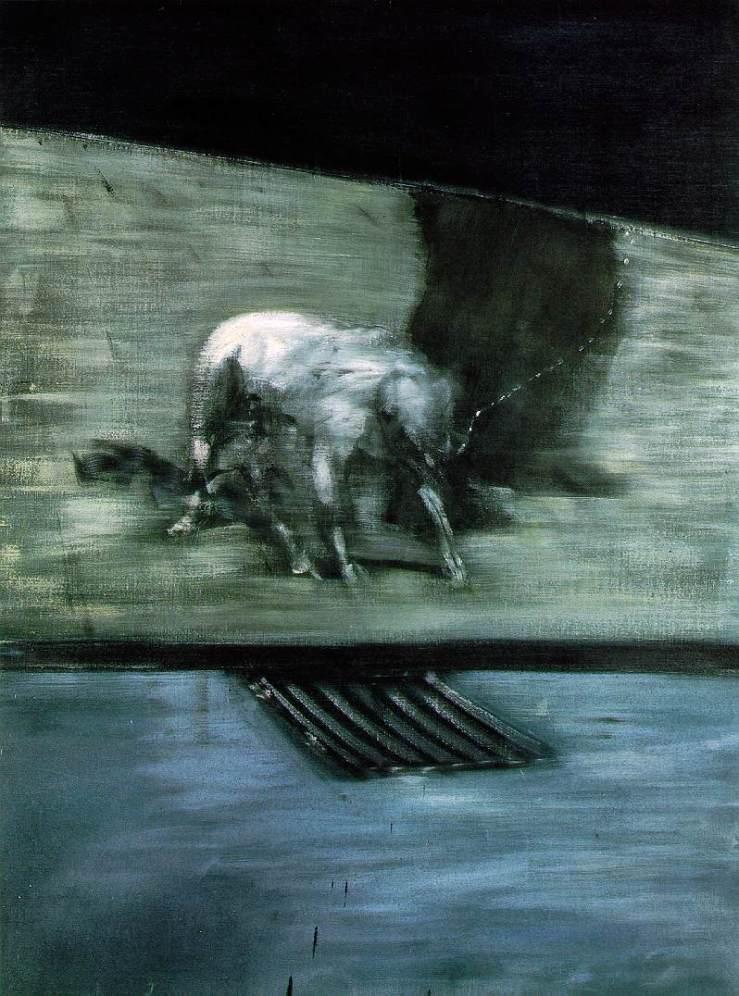 Man with Dog — Francis Bacon – Biblioklept