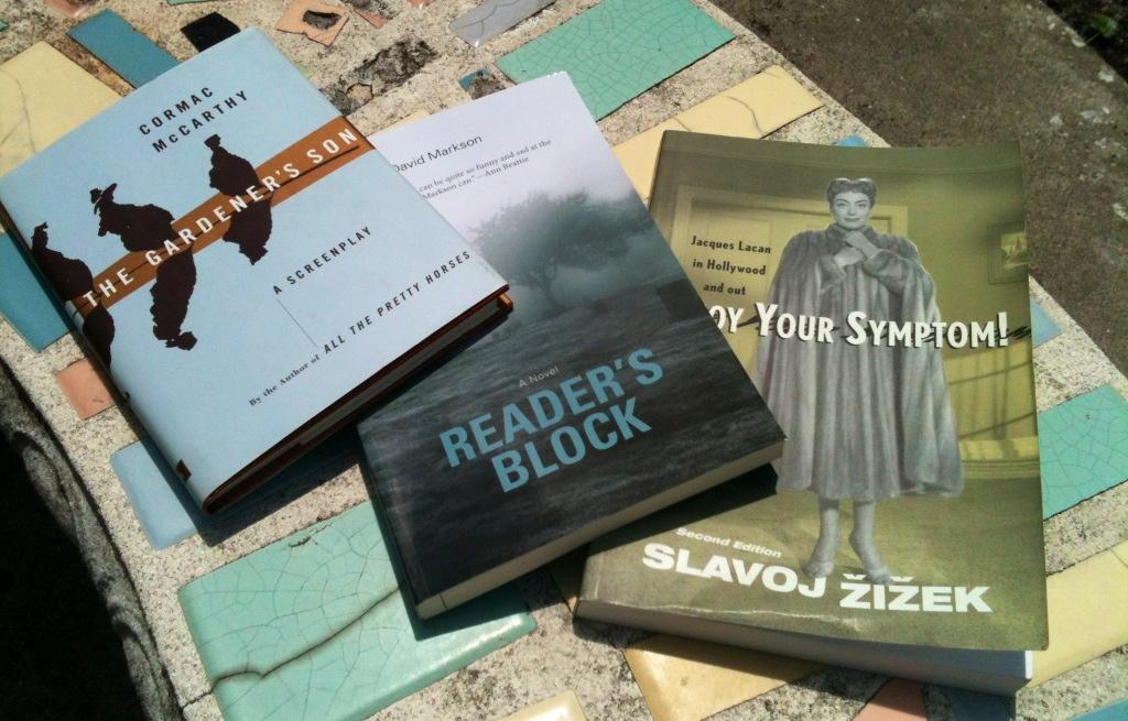 David Markson, Cormac McCarthy, Slavoj �i�ek (Books Acquired, 5.19 ...