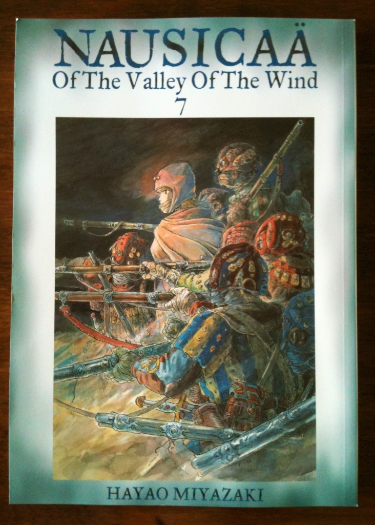 Nausica 228 Of The Valley Of The Wind Vol 7 Book Acquired