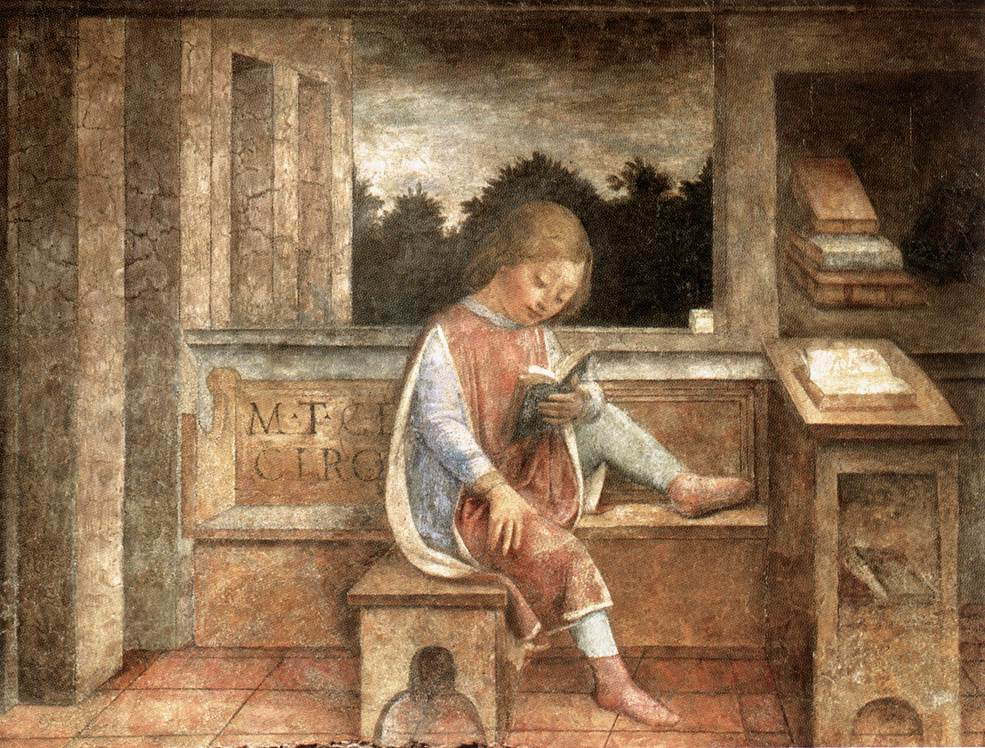 FOPPA, Vincenzo_the young cicero reading_ca 1464_wallace collection london