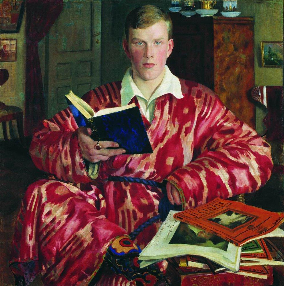 portrait-of-k-b-kustodiev-1922
