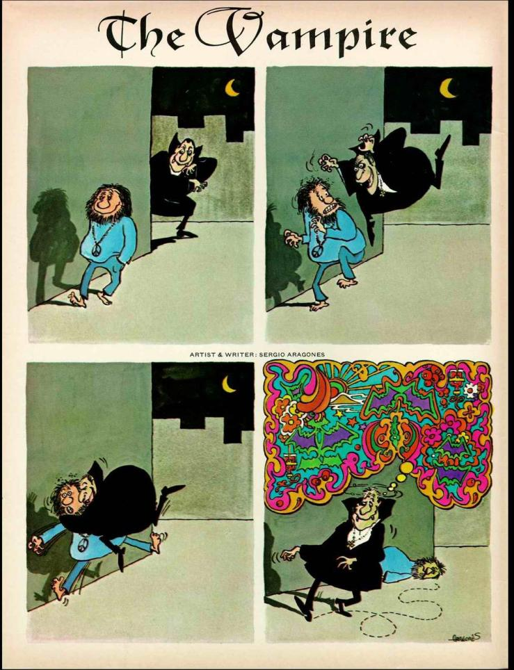 sergio aragones. the vampire. 001