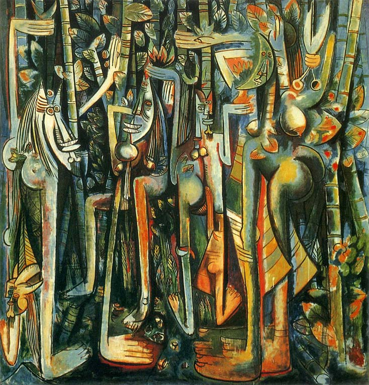 The Jungle by Wilfredo Lam