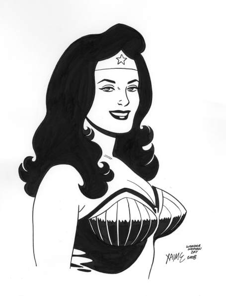 Wonder Woman Day Jaime Hernandez