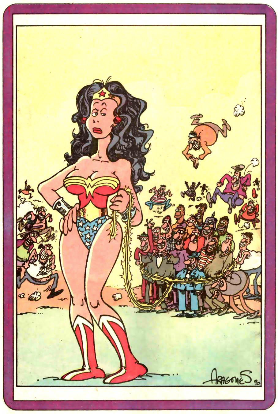ww. sergio aragones. wonder woman. 001