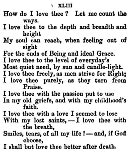 how to i love thee by elizabeth barrett browning