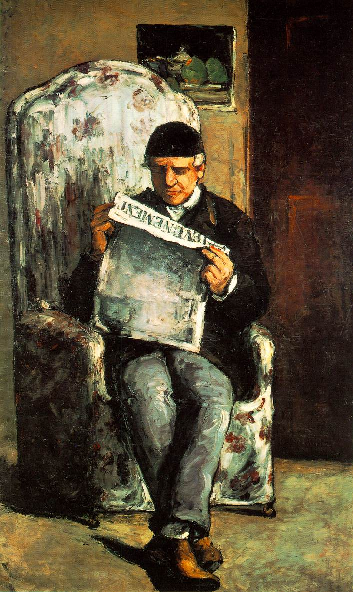 the-artist-s-father-reading-his-newspaper-1866