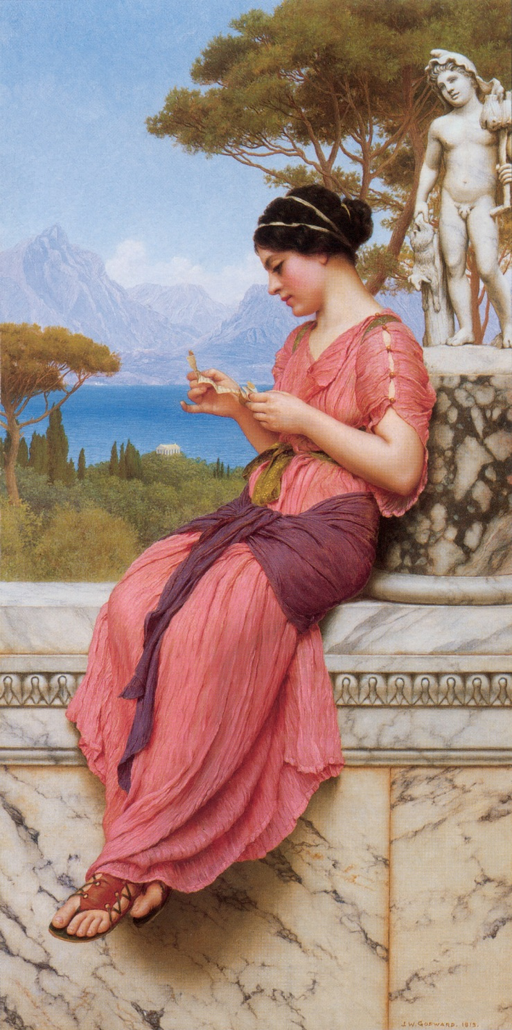 the love letter 2013 the letter william godward biblioklept 25408