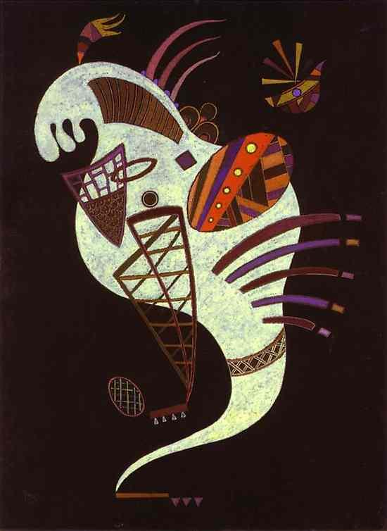 White Figure, Wassily Kandinsky