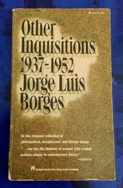 1962 collection essays jorge luis borges Essays and criticism on jorge luis borges - borges, jorge luis (vol  december, 1962, pp 625  collection of essays that link postmodern texts to their roots in.