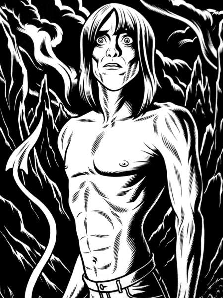 iggy pop charles burns