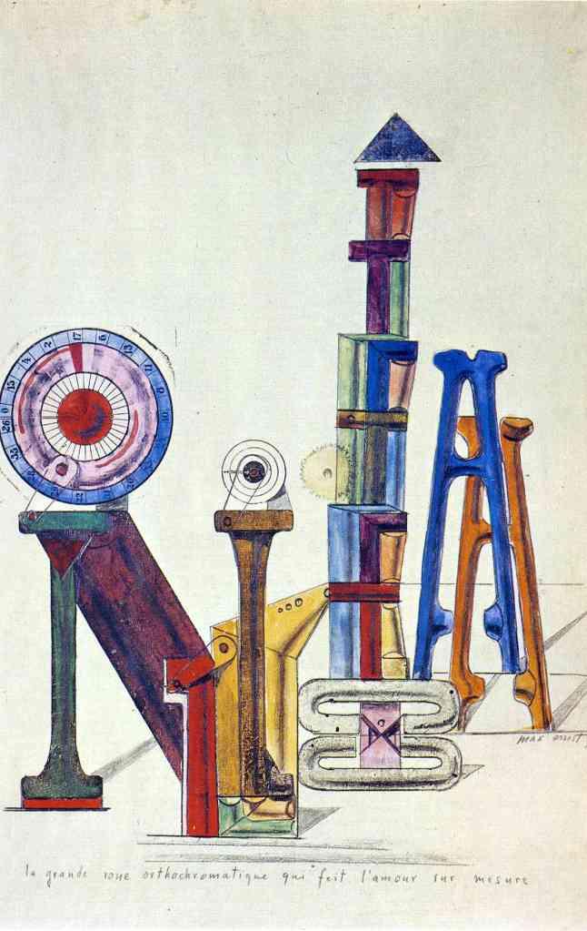 La Grande Roue Orthochromatique…, Max Ernst