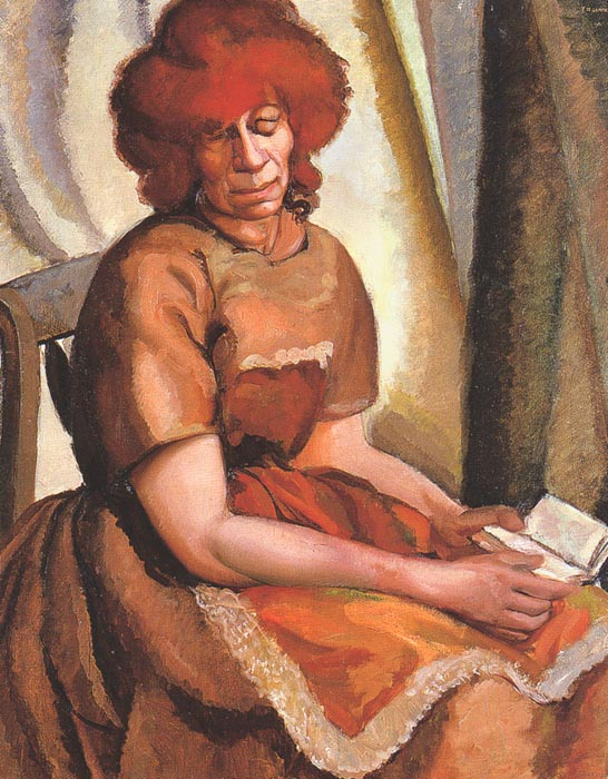 redheaded-woman-reading-1922