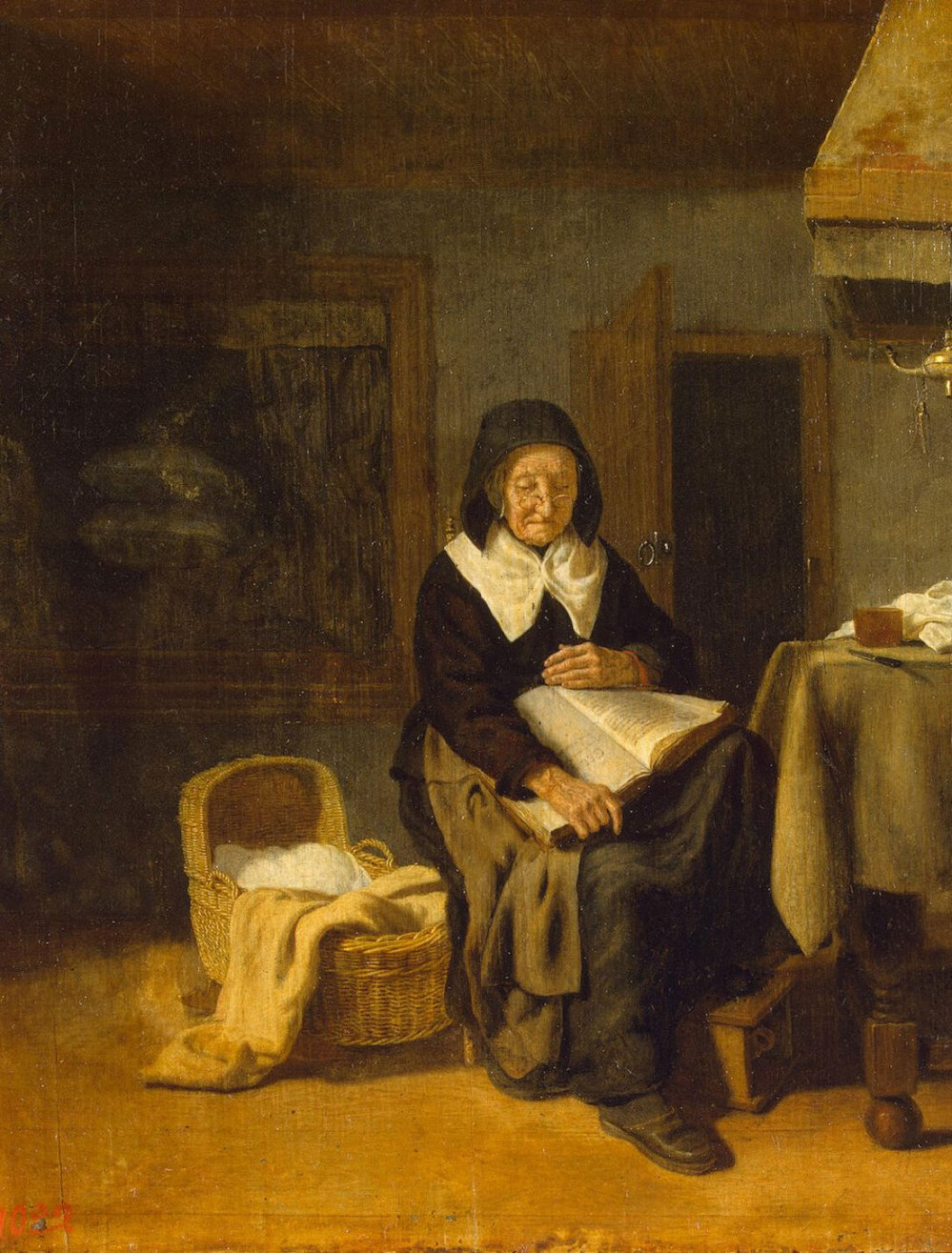 Bos_Pieter_van_den-ZZZ-Old_Woman_Reading_a_Book
