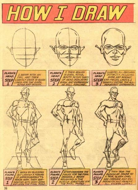 carmine infantino. how i draw the flash. 001