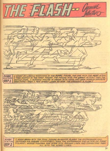 carmine infantino. how i draw the flash. 002