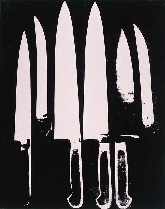 knives warhol