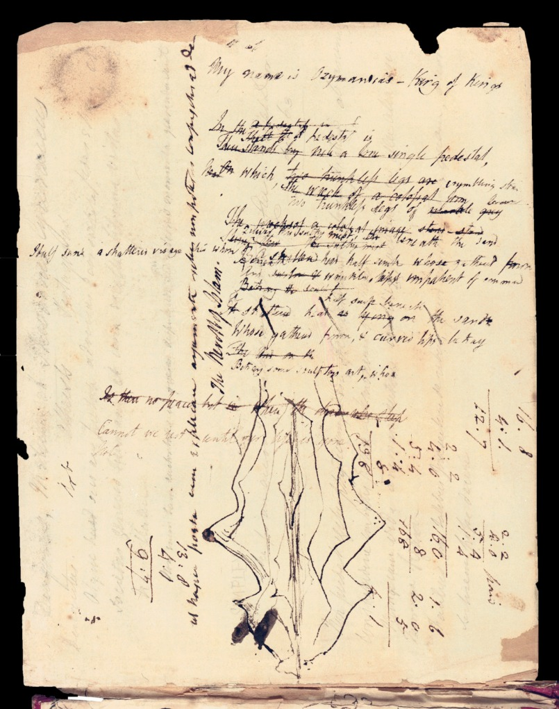 shelley manuscript