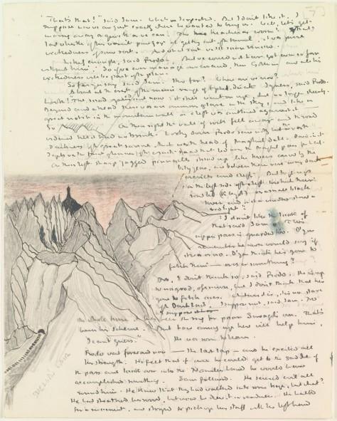 tolkien manuscript