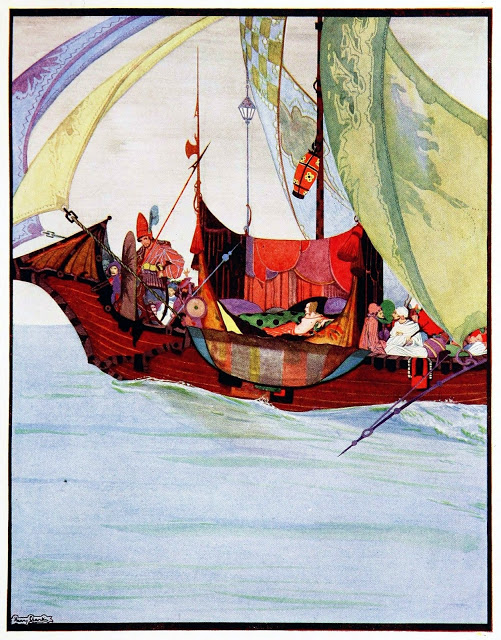 0068 The Year's At The Spring - Harry Clarke - A Ballad of the Captains 2