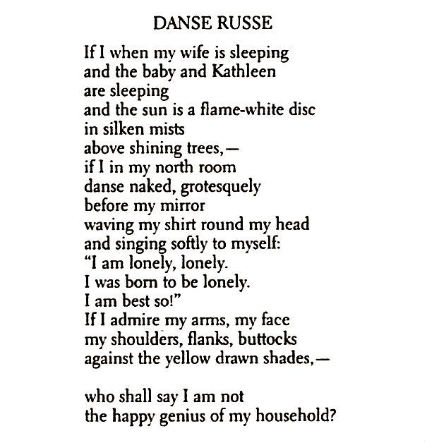 Danse russe by william carlos william essay