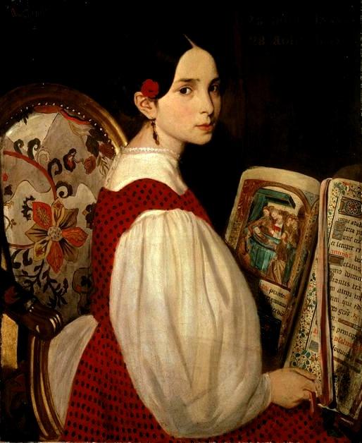 Léopoldine au livre d'heures