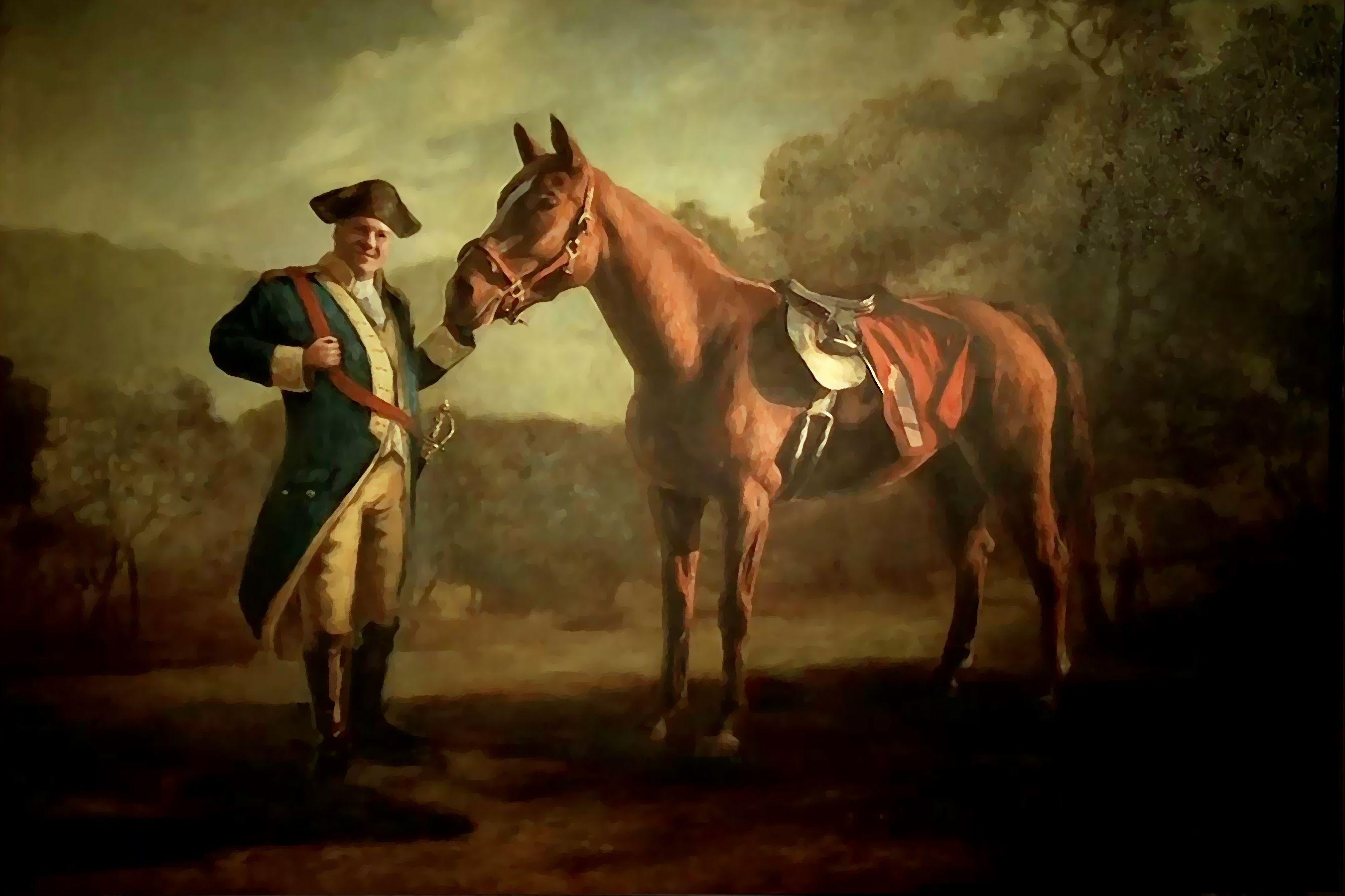 Portrait of tony soprano as napoleon bonaparte accompanied for Napoleon horse painting
