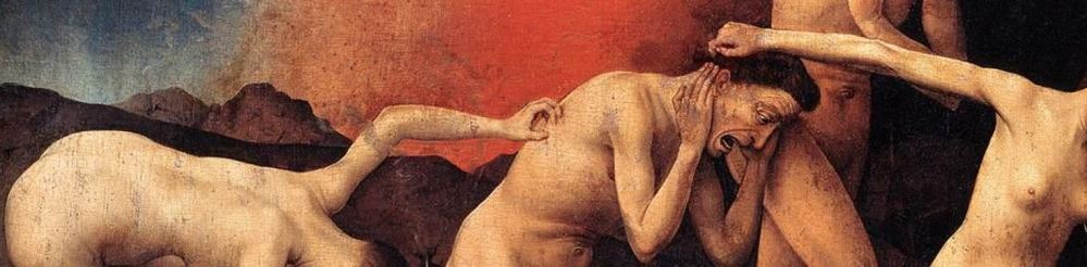 The Last Judgment (detail), Rogier van der Weyden