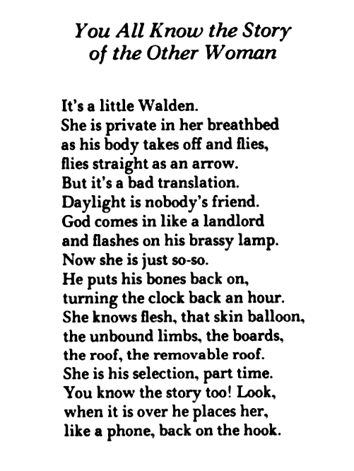 Poem About Being The Other Woman 92