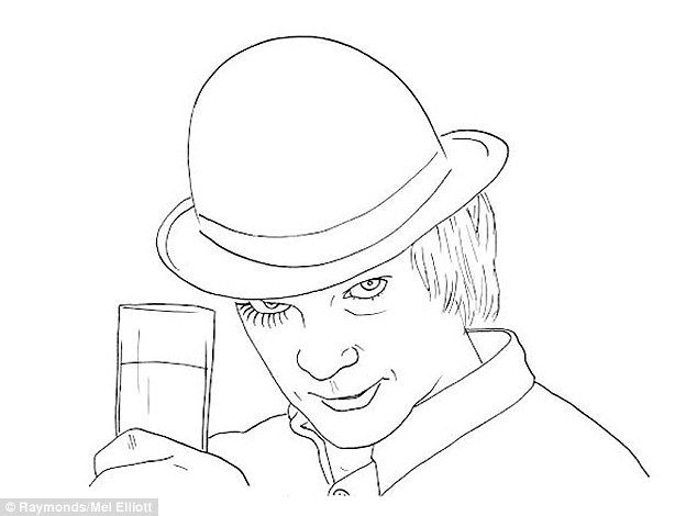 Two Fun Stanley Kubrick Coloring Pages