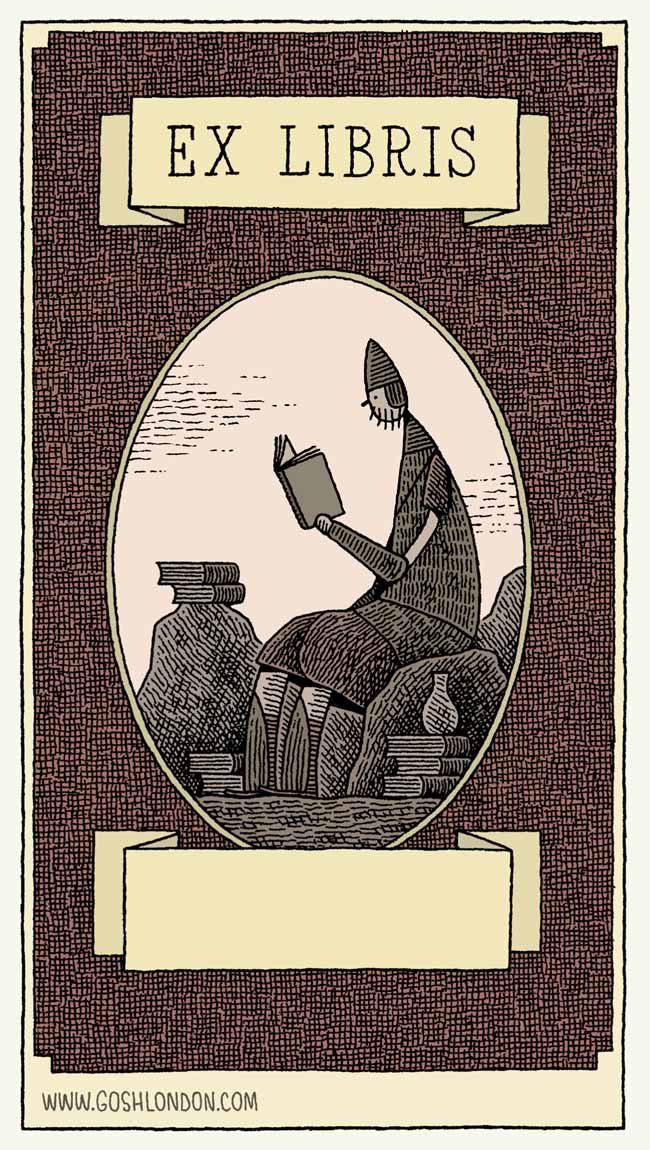 Goliath-bookplate