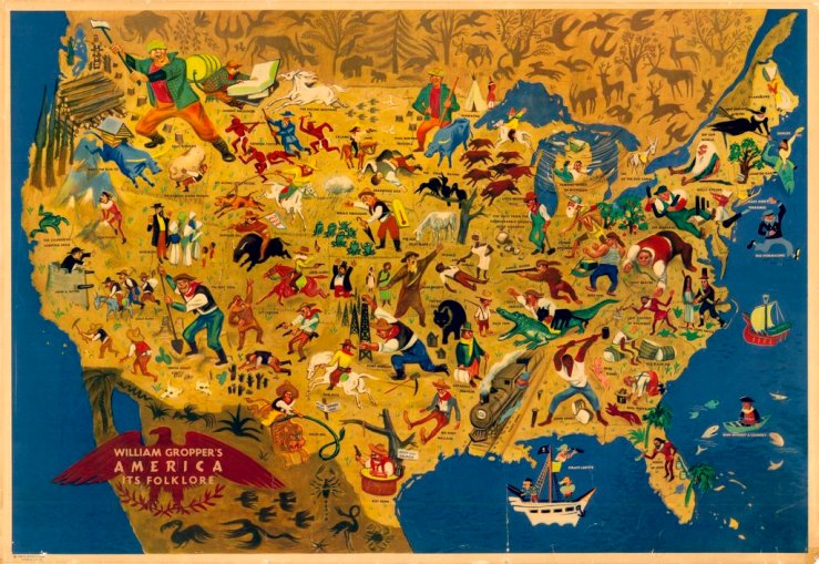 map of folklore