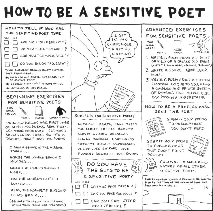 Sensitive Poet