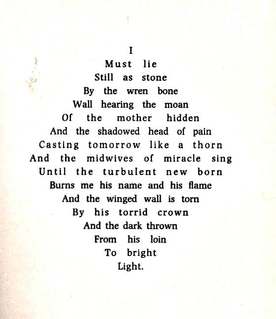Pattern Poems Biblioklept