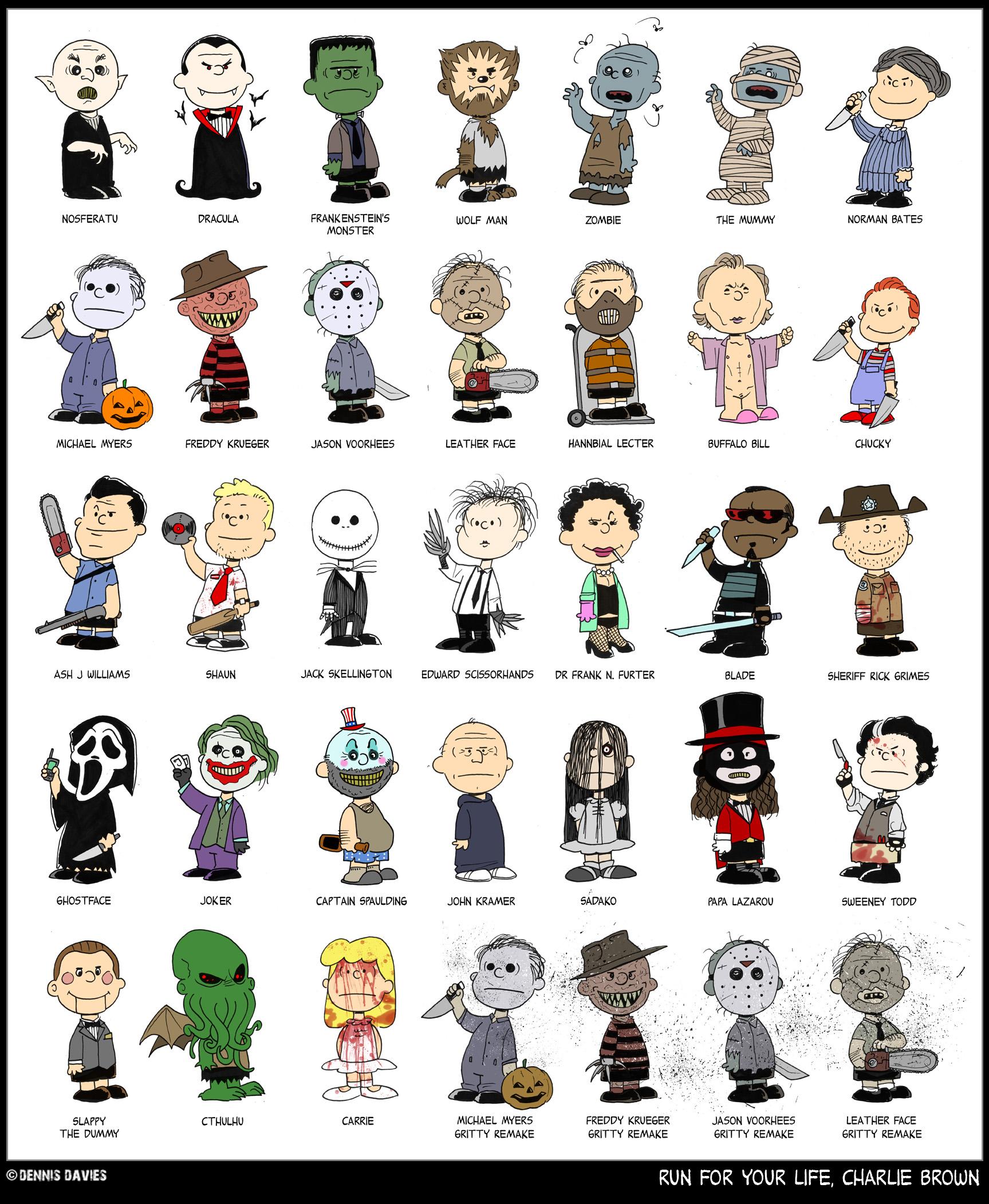Charlie Brown Characters Halloween Costumes