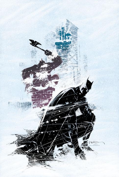 batman vs santa