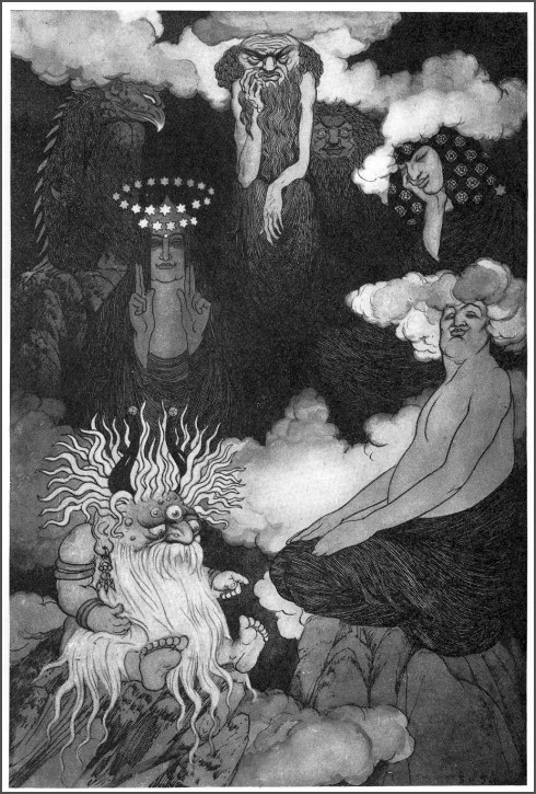 sidney sime time and gods Lo! The Gods!