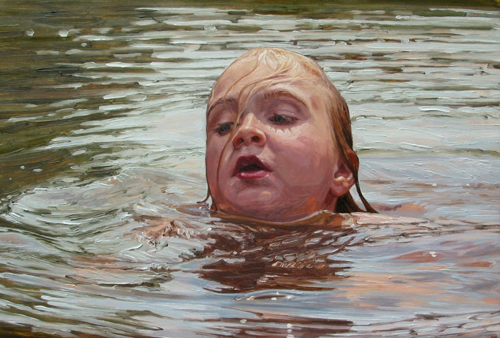 "Laura Sanders. ""Faye Taking A Breath."""