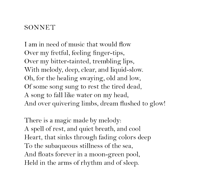 """Sonnet"""" — Elizabeth Bishop – Biblioklept"""