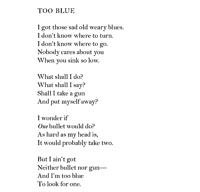 essay on langston hughes poetry
