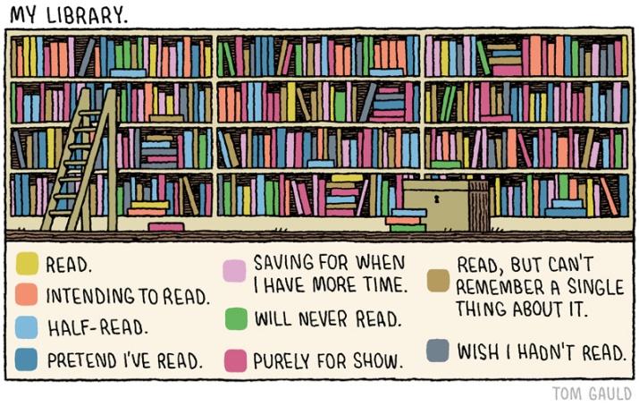 Libri, Librerie, Tom Gauld